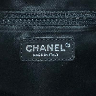 chain hobo bag black